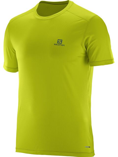 Salomon Cosmic Kortærmet T-shirt Herrer gul